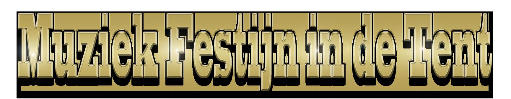 Muziek Festijn in de tent logo